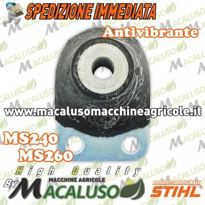 Tampone gomma motosega Stihl 024 026 MS240 MS260 antivibrante ammortizzatore anulare 11217909902