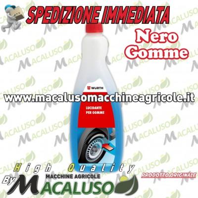 Lucida gomme 750 Wurth nero gomma lucidante detergente pneumatici ravviva pulitore