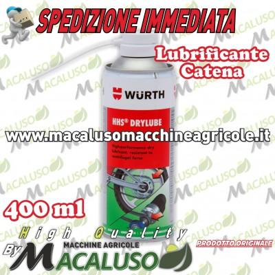Lubrificante spray Wurth Grasso per catene moto da 150 ml