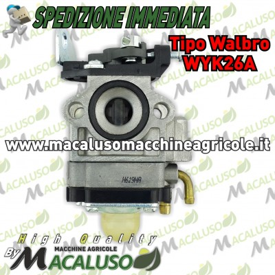 Carburatore tipo Walbro wyk26a decespugliatore Zenoah Efco Mitsubishi Maruyama 26 33 cc