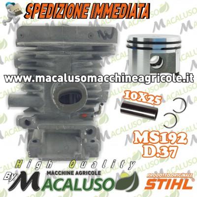 Cilindro pistone motosega Stihl MS192C d. 37 impugnatura doppia gruppo termico 11370201202