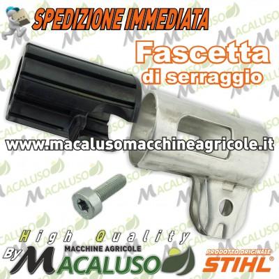 Fascetta serraggio tubo trasmissione decespugliatore Stihl FS87 FS100 FS130R gommino asta 41807904700