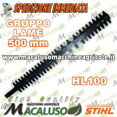 "Kit lame di 500mm/20"" tagliasiepi Stihl HL HLE HEL 42307105900"