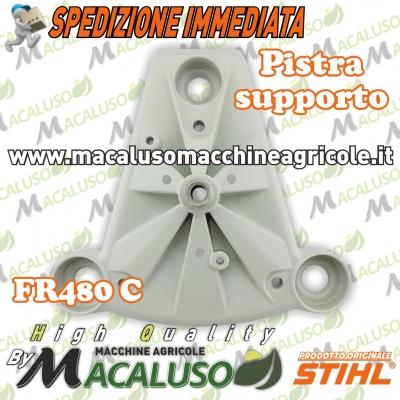 Piastra supporto motore decespugliatore spalleggiato Stihl FR480C carter inferiore 41287925901