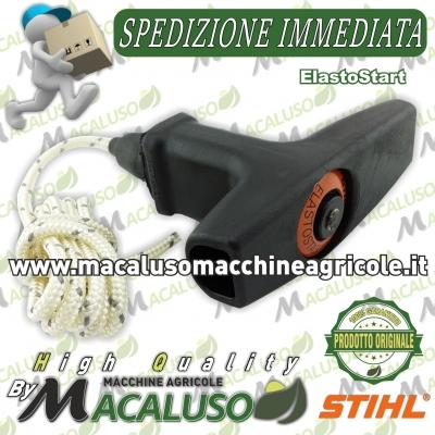 Impugnatura ElastoStart con fune avviamento motosega MS440 MS460 decespugliatore FS160 FS280 Stihl 11281903400