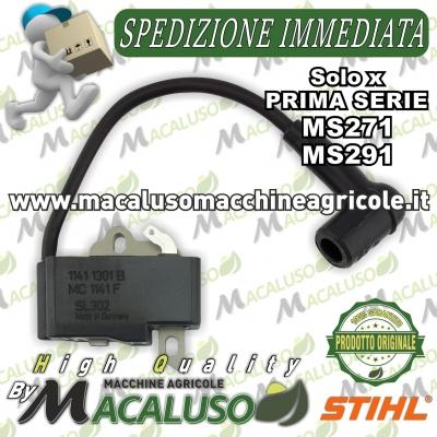 Bobina elettronica motosega Stihl MS271 MS291 PRIMA SERIE modulo accensione 11414001303