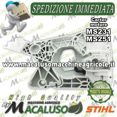 Carter motore completo motosega Stihl MS231 MS251 carcassa serbatoio 11430203023