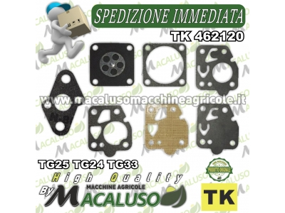 Serie membrane carburatore KAWASAKI TG25 TG24 TG33 TK462120 guarnizioni