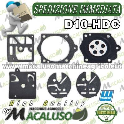 Serie membrane Walbro D10-HDC Originali
