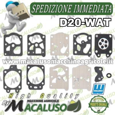 Serie membrane Walbro D20-WAT Originali