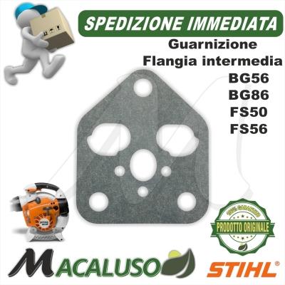 Guarnizione flangia intermedia decespugliatore FS56 FS70 soffiatore BG56 BG86 aspiratore SH56 SH86 Stihl41441290900