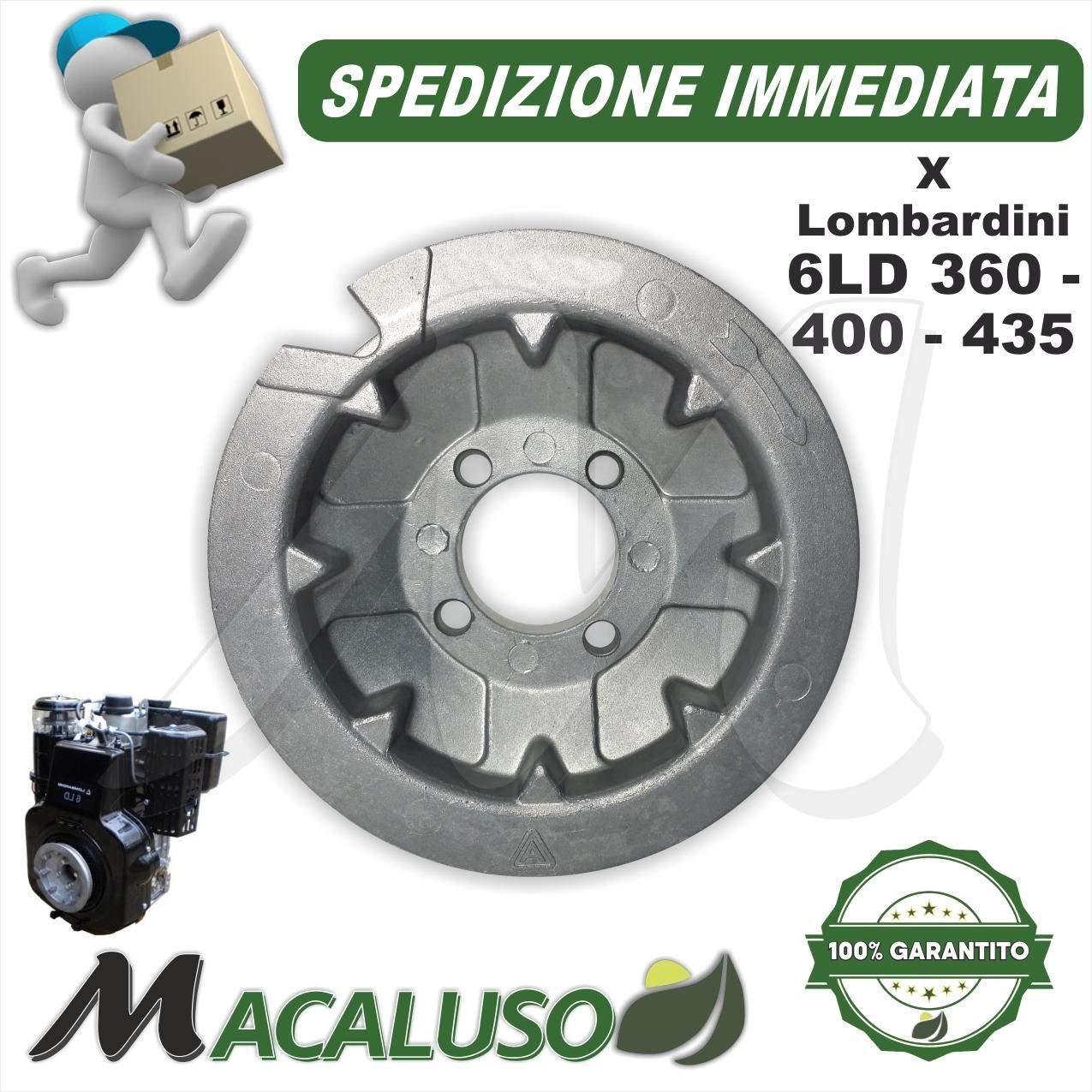 Marmitta motore Lombardini 3LD 510 LDA 450 510 4LD 640 705 collettore corto