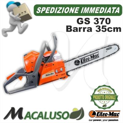 Motosega Oleo Mac GS370 con barra cm.35 (vedi migliori dettagli)