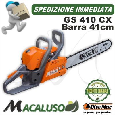 Motosega Oleo Mac GS410 CX barra cm 41 oleomac gs 410 CX OLEO-MAC EFCO