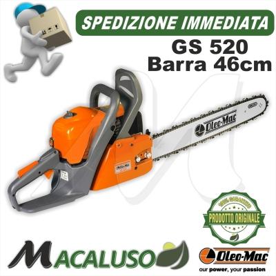 Motosega Oleo Mac GS520 barra cm 46 oleomac gs 520 OLEO-MAC EFCO