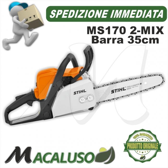 Motosega Stihl MS170 2-mix motore a scoppio barra 35cm spranga pofessionale