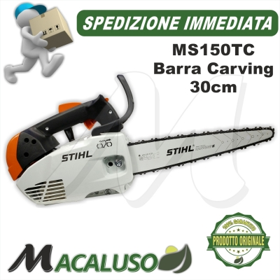 Motosega da potaturaStihl MS150 TC lama carving cm 30 pota ms150t ms 150t ms150tc professionale