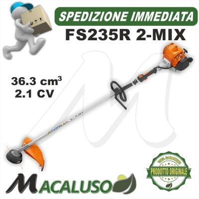 Decespugliatore Stihl FS235R tagliaerba trimmer decespugliatrice impugnatura circolare 41512000017