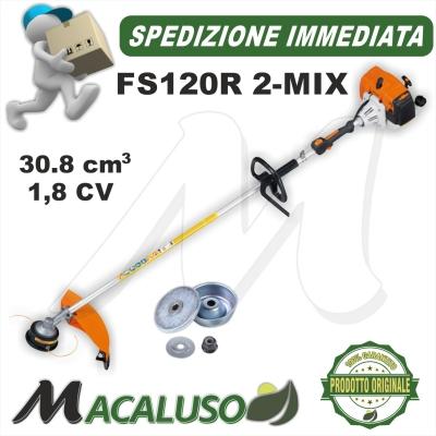 Decespugliatore Stihl FS120R tagliaerba trimmer decespugliatrice impugnatura circolare 41342000411