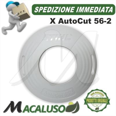 Coperchio inferiore plastica Stihl testina AutoCut 56-2 portafilo nylon 40057139701