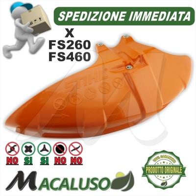 Parasassi decespugliatore Stihl FS260 FS460 protezione lama specifico 41477108101