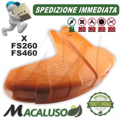 Parasassi decespugliatore Stihl FS260 FS460 protezione specifico filo autocut 41477108100