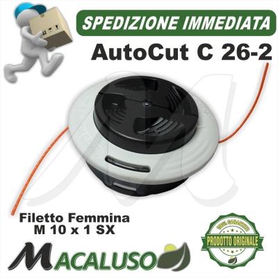 Testina portafilo Stihl AutoCut C26-2 batti e vai decespugliatore Auto Cut 40027102169