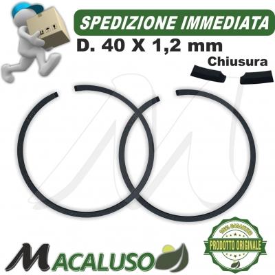 Kit 2 fascia elastica D 40 x 1,2 motosega MS210 MS230 decespugliatore FS250 Stihl segmento 11230343005