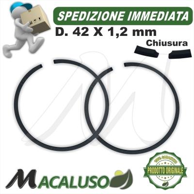 Kit 2 fascia elastica D 42 x 1,2 decespugliatore FS450 squotitore SP450 segmento 11230343003