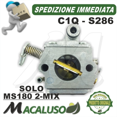 Carburatore C1Q - S286C motosega Stihl MS180 2MIX 11301200612