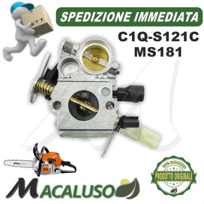 Carburatore C1Q - S121C motosega Stihl MS181 11391200605