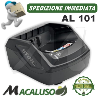 Caricabatteria Stihl AL 101 carica batteria AP100 AP200 AP300 AK10 AK20 AK30 48504302520