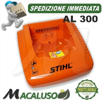 Caricabatteria Stihl AL300 carica batteria AP200 AP300 AP500 MSA HSA BGA HLA FSA 48504305500