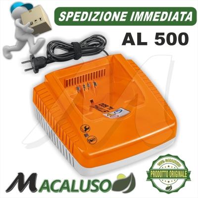Caricabatteria Stihl AL500 carica batteria AK10 AK20 AK30 AP200 AP300 AP500 AR900 AR1000 AR2000 AR3000 48504305700