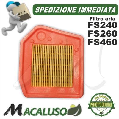 Filtro aria decespuglitore Stihl FS240 FS260 FS360 FS410 FS460 41471410300
