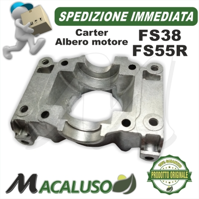 Carter albero motore Soffiatore BG55 BG85 decespugliatore FS55 tagliasiepe HS45 Stihl carter biella 41400210300
