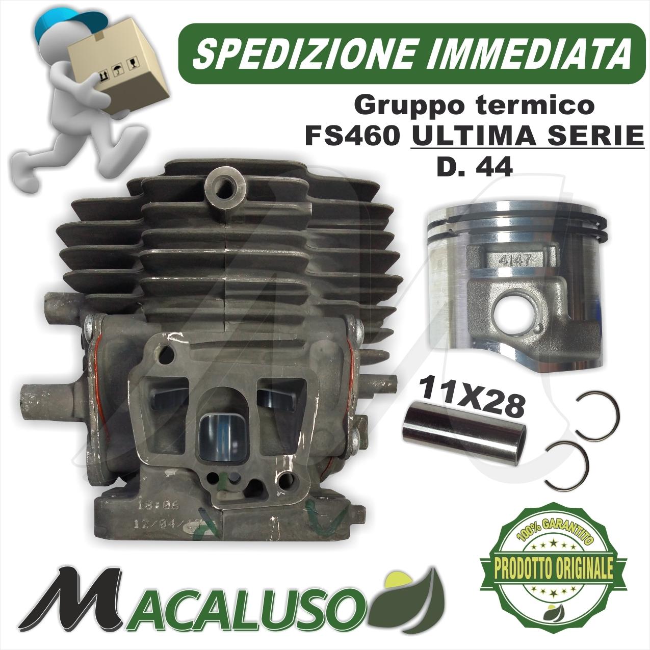 CILINDRO COMPLETO DI PISTONE E SEGMENTI BRUMAR BM014630 STIHL