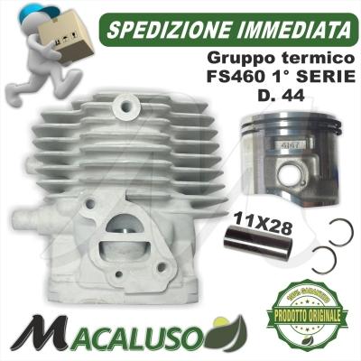 Cilindro pistone decespugliatore Stihl FS460C EM FR460C EM d. 44 gruppo termico PRIMA SERIE 41470201205