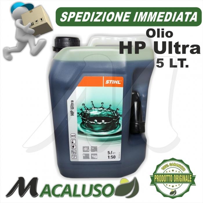 Olio miscela Stihl HP Ultra da 5 Litri sintetico art.07813198063 Motoseghe e Decespugliatori