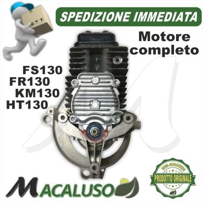 Motore completo Decespugliatore Stihl FS130R FR130 KM139 D 43 mm gruppo propulsore termico 41800200201