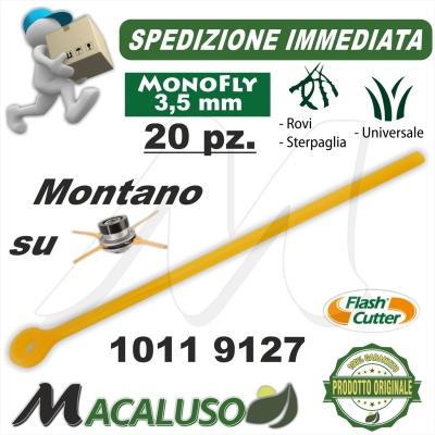 Filo lamella monofly testina Flash Cutter Qfc10 3,5 pezzi 20 decespugliatore lama nylon ricambio 10119127