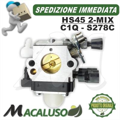 Carburatore tagliasiepi Stihl HS45 2mix C1Q-S278C hs 45 2 mix 42281200610