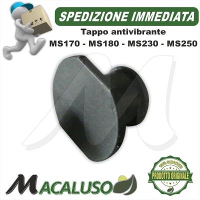 Tappo per antivibrante motosega stihl MS170 MS180 MS210 MS230 MS250 tappino ammortizzatore coperchio