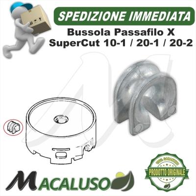 Boccola passa filo Stihl testina SuperCut 101 20-1 20-2 40027138310 guida filo bussola