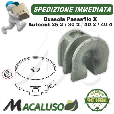 Boccola passa filo Stihl testina AutoCut 30-2 40-2 40-4 40037138301 guida filo