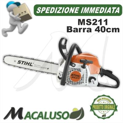 Motosega Stihl MS211 2-mix motore a scoppio barra 40cm spranga professionale