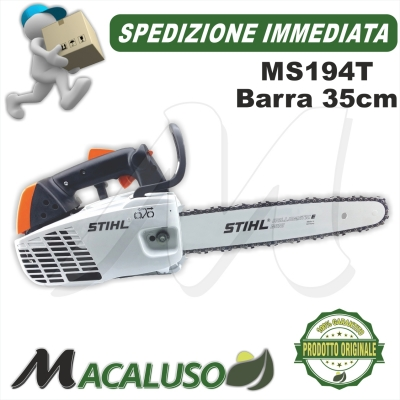 Motosega Stihl MS193T barra light cm 35 potatura pota MS193 T PROFESSIONALE
