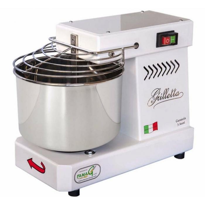 Impastatrice Grilletta Famag a spirale IM 5 per pane 5 litri elettrica MIGLIOR PREZZO