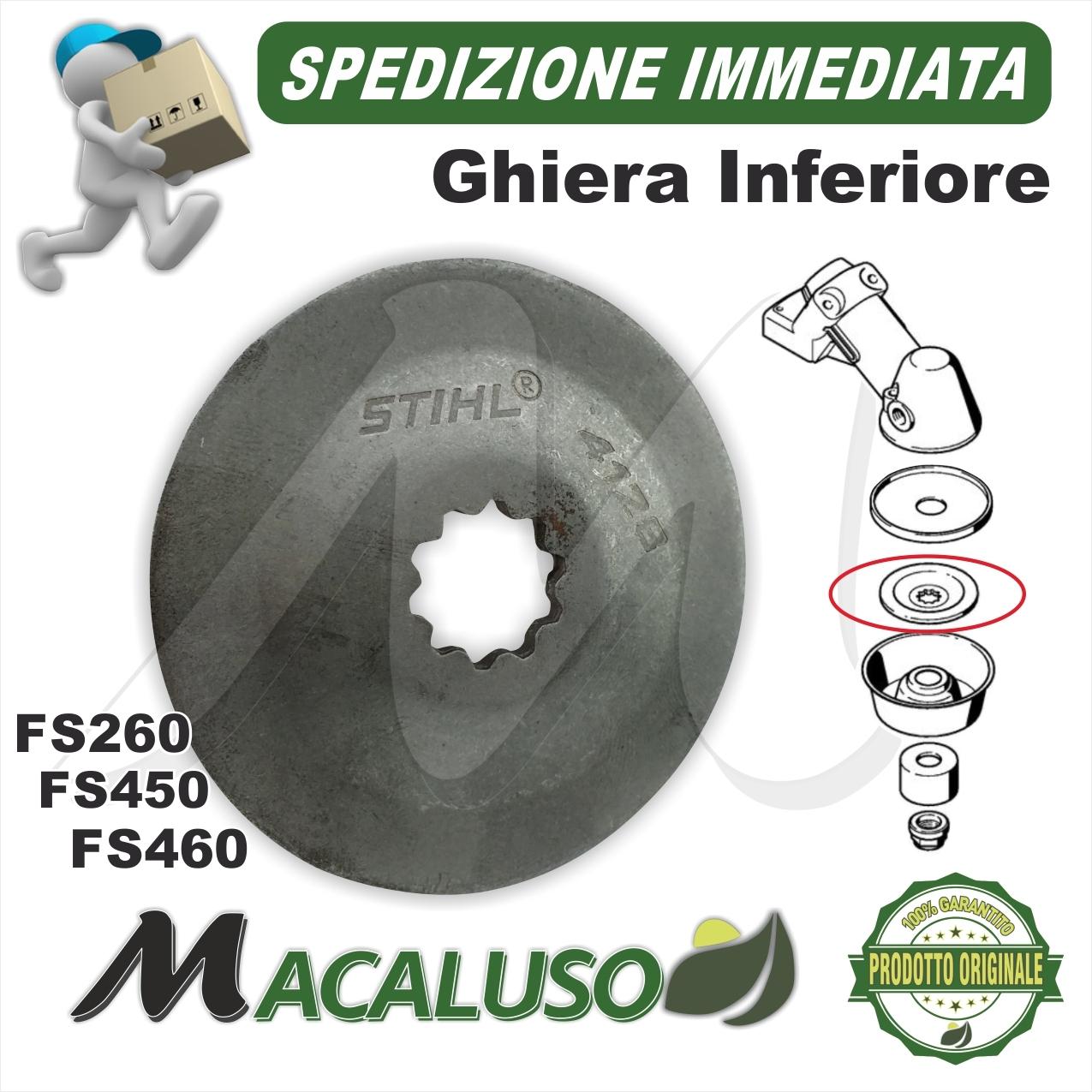 International ISE/® ISE/® FS450 sostituisce i Numeri di Parte: 4128 080 2101 Copertura di Ricambio per Stihl FS400 FS480