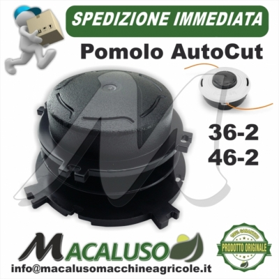 Bobina portafilo x AutoCut 36-2 46-2 Stihl batti e vai pomolo plastica 40037133001